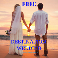 Receive a dream destination wedding for FREE with this offer