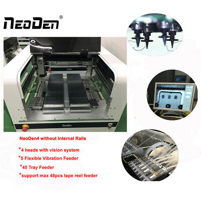 On Sale Neoden4 Pick And Place Robot Led Production With 37 Tape Reel Feeders-j