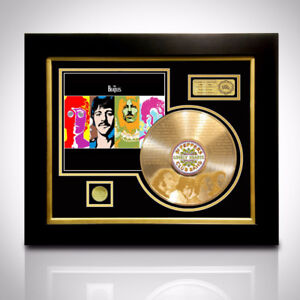 RARE-T Exclusive Limited Edition GOLD LP 'BEATLES - PSYCHEDELIC'
