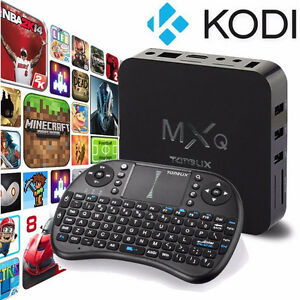 MXQ Quad core Android Box + wireless Keyboard/Mouse Kitchener / Waterloo Kitchener Area image 1