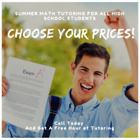 Summer Math Tutoring For All High School Students