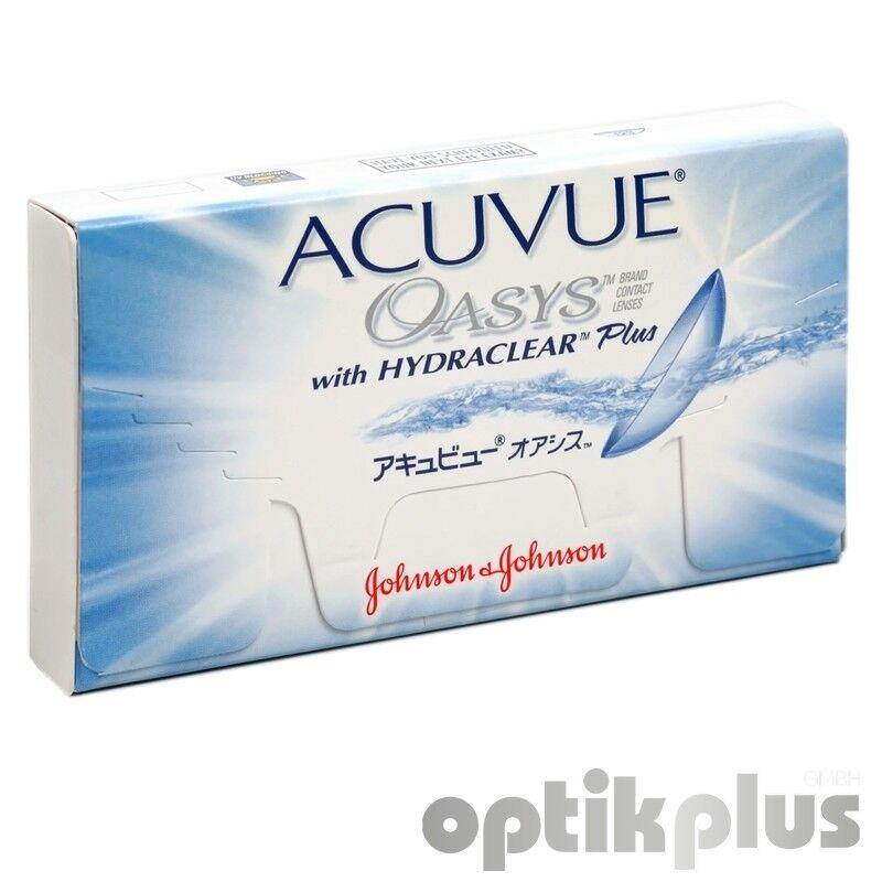 Acuvue Oasys - 2-Wochenlinse von Johnson+Johnson - 6er-Pack [9570]