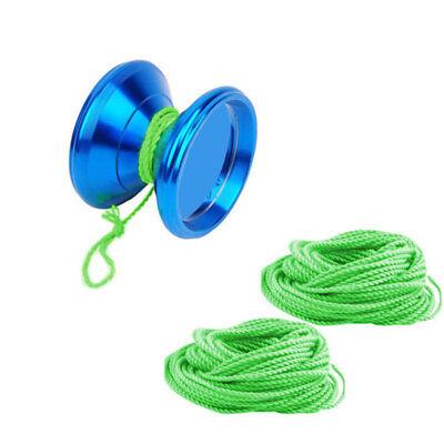 10Pc Professional Children Kids YoYo Ball Toy Bearing Trick Strings Rope Green - Yoyo Ball