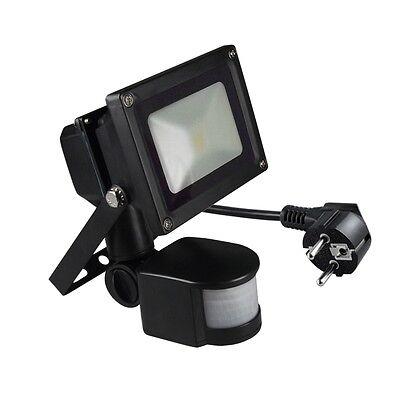 NERO Riflettore LED con rilevatore di movimento 230V / PROIETTORI riflettore