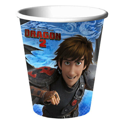 9oz To Cups (8 How to Train Your Dragon 9oz. Cups Table Decorations Birthday)