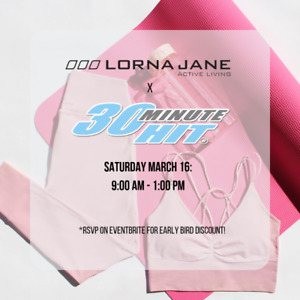 029dc64658 30 Minute Hit Kickboxing x Lorna Jane Pop Up