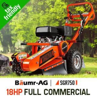 Stump Grinder 18HP Petrol Cutter Wood Chipper Mulcher Tree Root Seven Hills Blacktown Area Preview