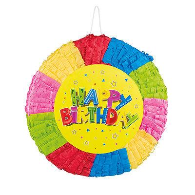 NEU Pinata Happy Birthday - Kinderparty - Geburtstag - Mexiko - Geburtstagsspiel