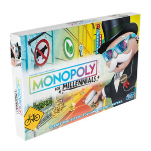 Monopoly for Millennials NEW!!