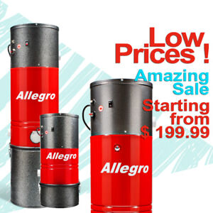 Allegro Central Vacuum Systems Amazing Sale starting at $199.99