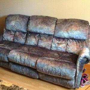 Elran sofa buy and sell furniture in ontario kijiji for Chaise inclinable