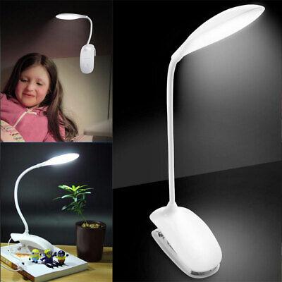 14LED Touch Sensor USB Flexible Reading Light Clip-on Beside Bed Desk Table Lamp