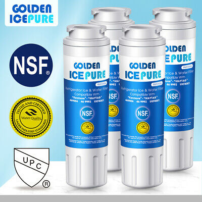 4 PACK Fit For Maytag UKF8001 UKF8001AXX-200 RWF1040 Golden Icepure Water Filter