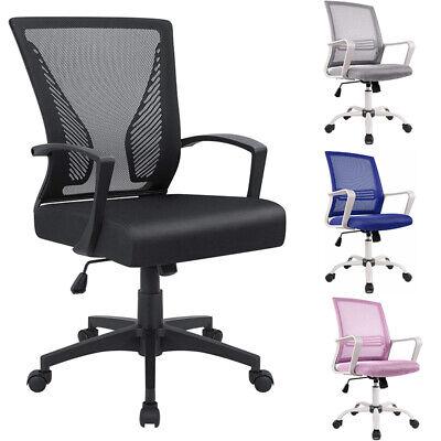 Ergonomic Office Chair Executive Computer Desk Seat Swivel Mesh Task Chair