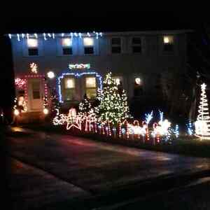 Free holiday lighting & or window painting quote Kingston Kingston Area image 5