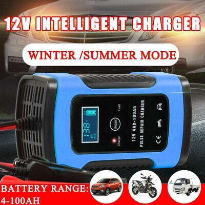 5a Batterie-ladegerät (Intelligentes Batterie Ladegerät Batterieladegerät 12V 5A für Auto Motorrad KFZ)