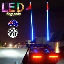 1.5M LED Light Whip ~ detachable 4×4, ATV, Sand Flag Ligh Canterbury Canterbury Area Preview