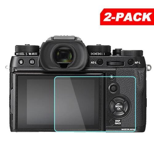 2x Tempered Glass Screen Protector for Fuji Fujifilm X-T2 X-T1 XT2 XT1 Camera