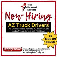 AZ Truck Driver- $ SIGN ON BONUS!