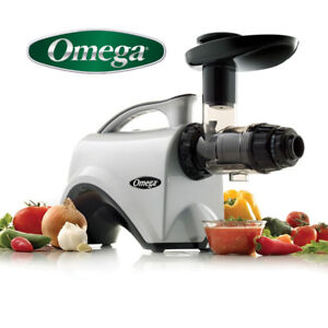 NEW OMEGA JUICER NC800 HDS JUICER EXTRACTOR AND NUTRITION CENTER