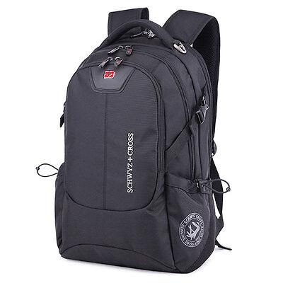"SwissGear Cross 17"" Laptop Notebook Bag Travel Backpack School Bookbag Rucksack"