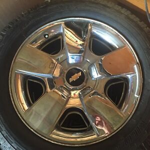 """20"""" Chevy Rims and Tires"""