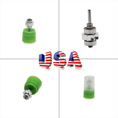 Pro Dental High Speed Handpiece Turbine Cartridge Push Button Standard Head Us