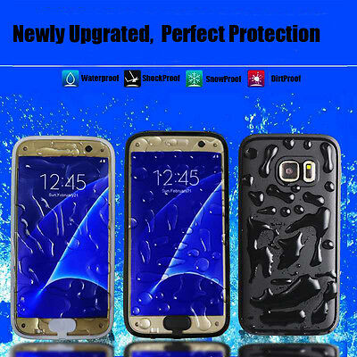 Waterproof Shockproof Dirtproof Thin Case Cover For Samsung