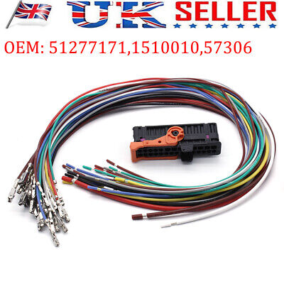 Left Right Door Cable Wiring Harness Loom + Plug For SKODA ROOMSTER SUPERB YETI