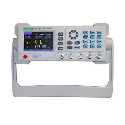 Electric Bridge Resistance Capacitance Tester Digital Lcr Meter Et4401et4410