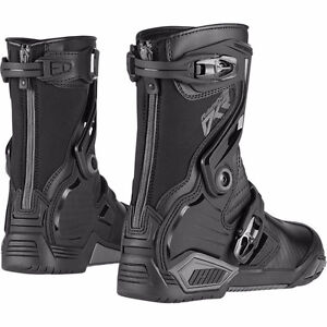 Icon Raiden DKR Boots - almost new!