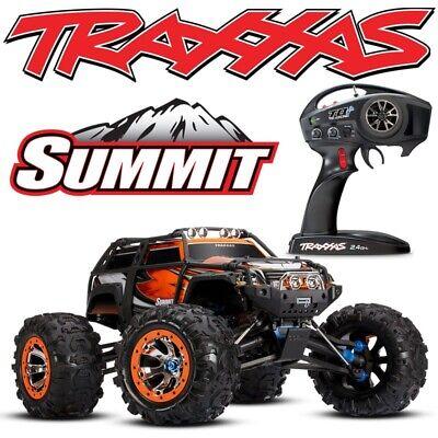 NEW Traxxas 1/10 Summit ORANGE 4WD RTR RC Monster Truck w/TQi 2.4GHz - 56076-4 ()