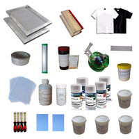 Screen Printing Materials Kit Start out business  5 Color 006812