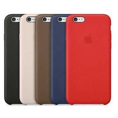 Genuine PU Leather Back Case Cover For Apple iPhone X XR XS MAX 6 6S 7 8 Plus