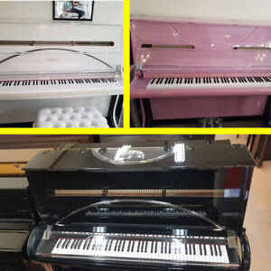 Lomence Acrylic Upright Piano For Sale - OPEN EASTER WEEKEND