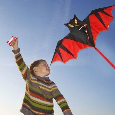 Cool Bat Kite Outdoor Kites Flying Toys Kite For Children Kids Gift  - Cool Outdoor Toys For Kids