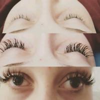 Lashes by Alex, eyelash extensions.