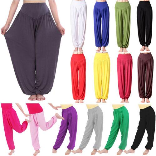 Haremshose Aladinhose Pumphose Pluderhose Sports Yoga Jogginghose Damen Kinder