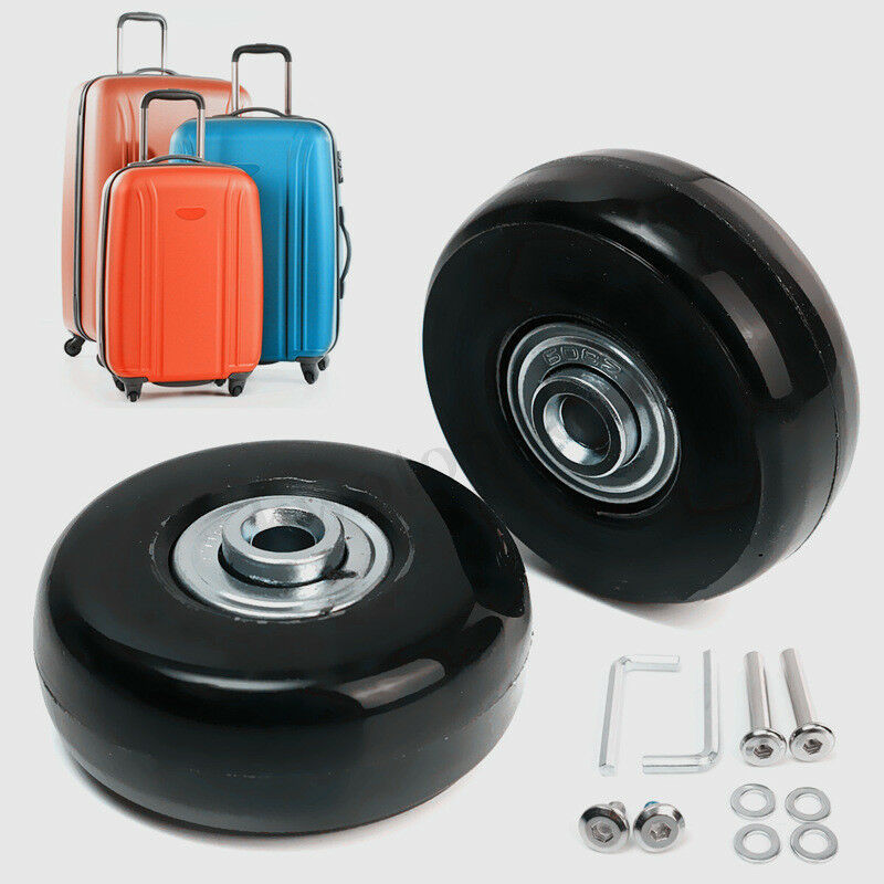 2 Set OD 40 50 63 68 70mm Luggage Suitcase Replacement Wheel