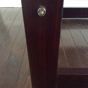 Mid Century Modern Percival Lafer Solid Brazilian Rosewood Table Kitchener / Waterloo Kitchener Area image 3