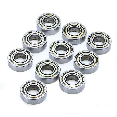 10pcs 698zz 8x19x6mm Open Miniature Bearings Ball Mini Hand Bearing Spinner