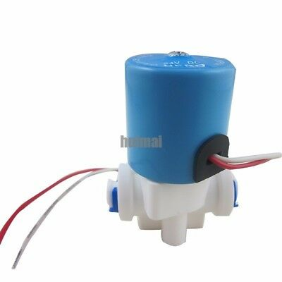 Electric Solenoid Valve Dc 24v 14 Nc Feed For Ro Water Air With Quick Connect