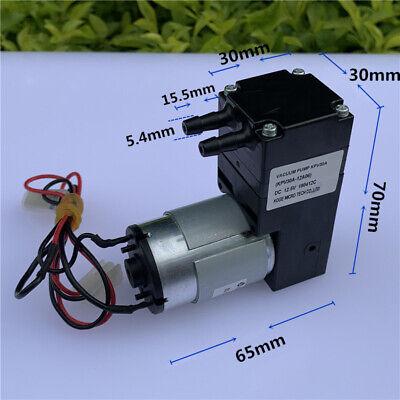 Dc 12v Large Flow Micro Air Vacuum Diaphragm Pump Negative Pressure Suction Pump