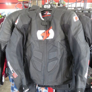 Oxford RPS Men's Leather Sport Bike Motorcycle Jacket Brand New