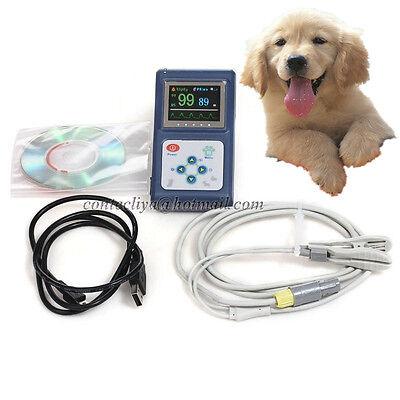 Cms60d Vet Veterinary Pulse Oximetertongue Spo2 Probepc Software Usb Us Seller