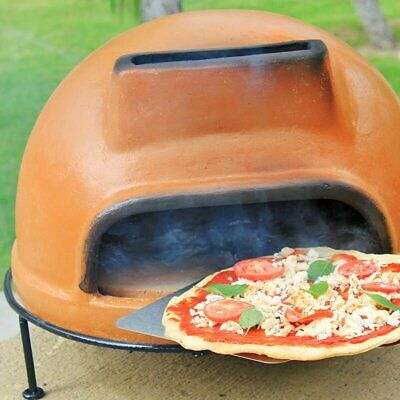 Home Kitchen Patio Garden Outdoor Cooking Rustic Liso Pizza Oven Wood Burning..