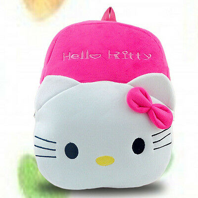 Hello Kitty Shoulder Plush Cartoon School Bag for Girl Children Kids Backpacks (Hello Kitty Backpacks For Girls)