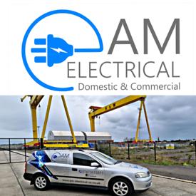 Electrician Belfast certified electric car charging installer