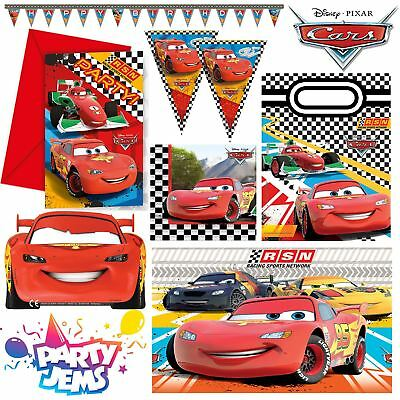Pixar Cars Formula Party Children's Birthday Party Decorations Tableware