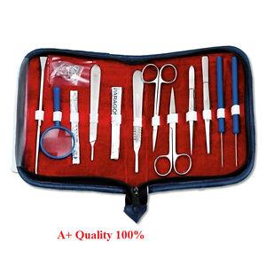 Prof. Quality Surgical Instruments+Anatomy Set | DE Medical Basic Dissecting Kit